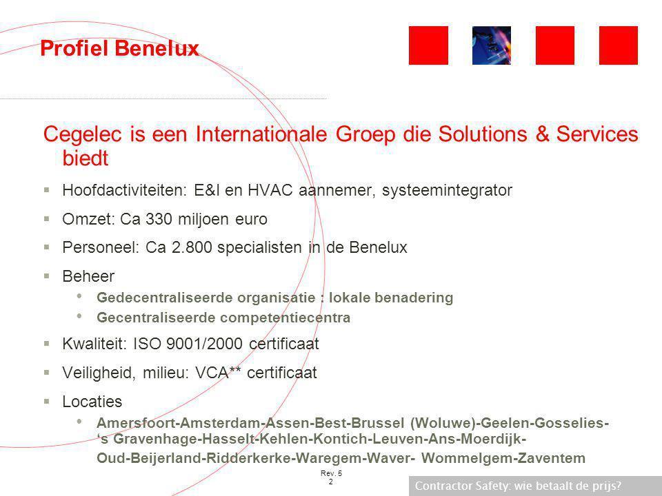 Cegelec is een Internationale Groep die Solutions & Services biedt
