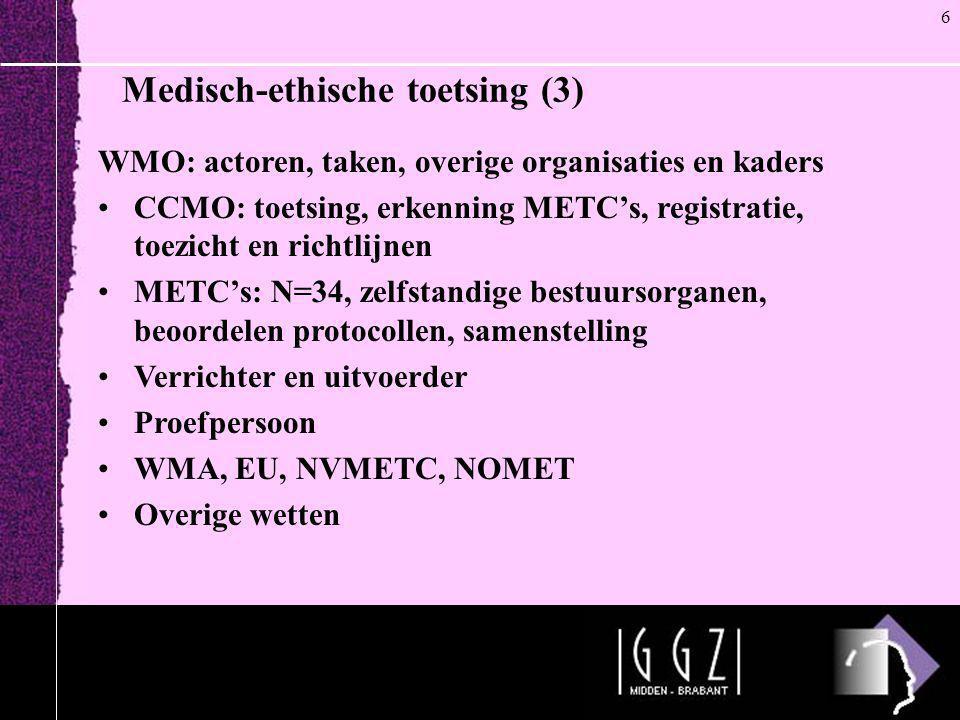 Medisch-ethische toetsing (3)