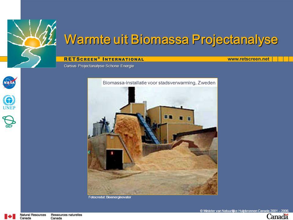Biomassa-installatie voor stadsverwarming, Zweden
