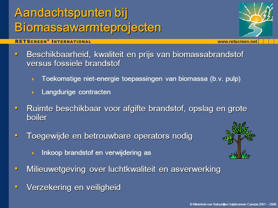 Aandachtspunten bij Biomassawarmteprojecten