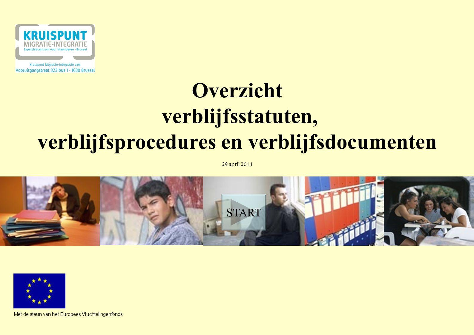 verblijfsprocedures en verblijfsdocumenten