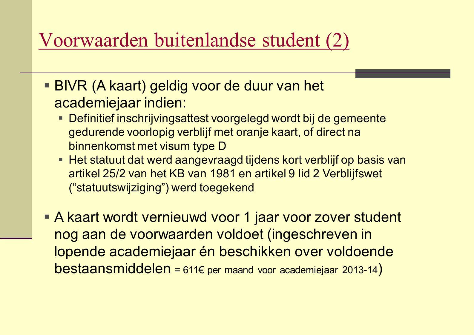 Voorwaarden buitenlandse student (2)