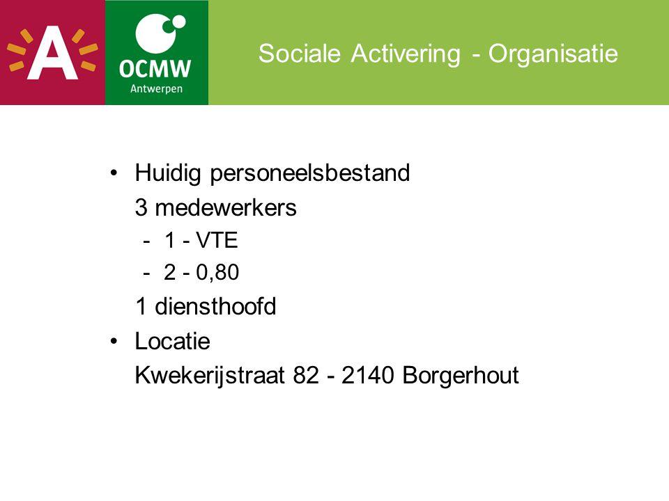 Sociale Activering - Organisatie