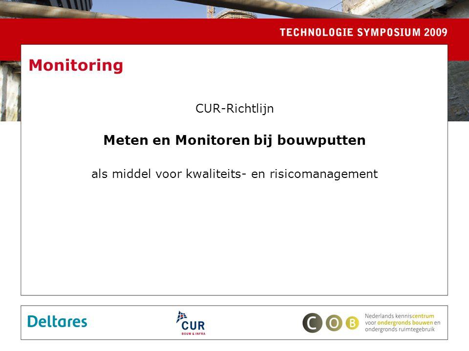 Meten en Monitoren bij bouwputten