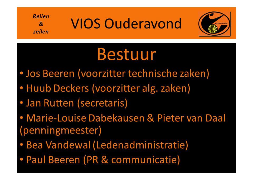 Bestuur VIOS Ouderavond Jos Beeren (voorzitter technische zaken)