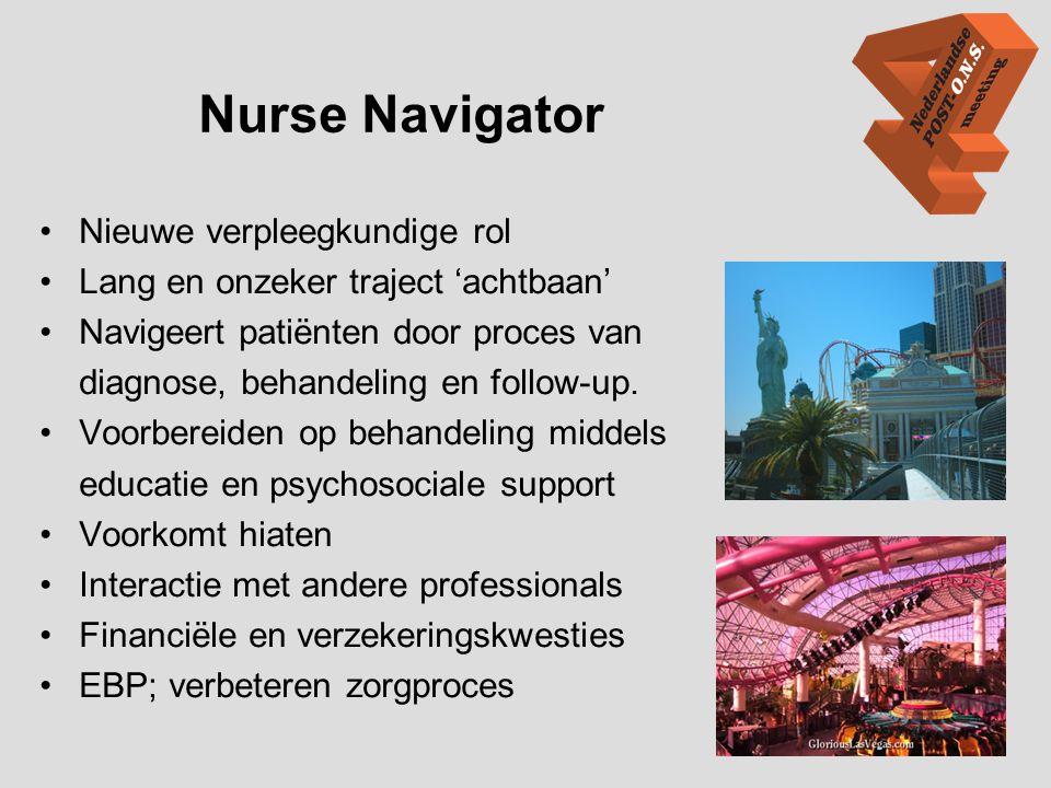 Nurse Navigator Nieuwe verpleegkundige rol
