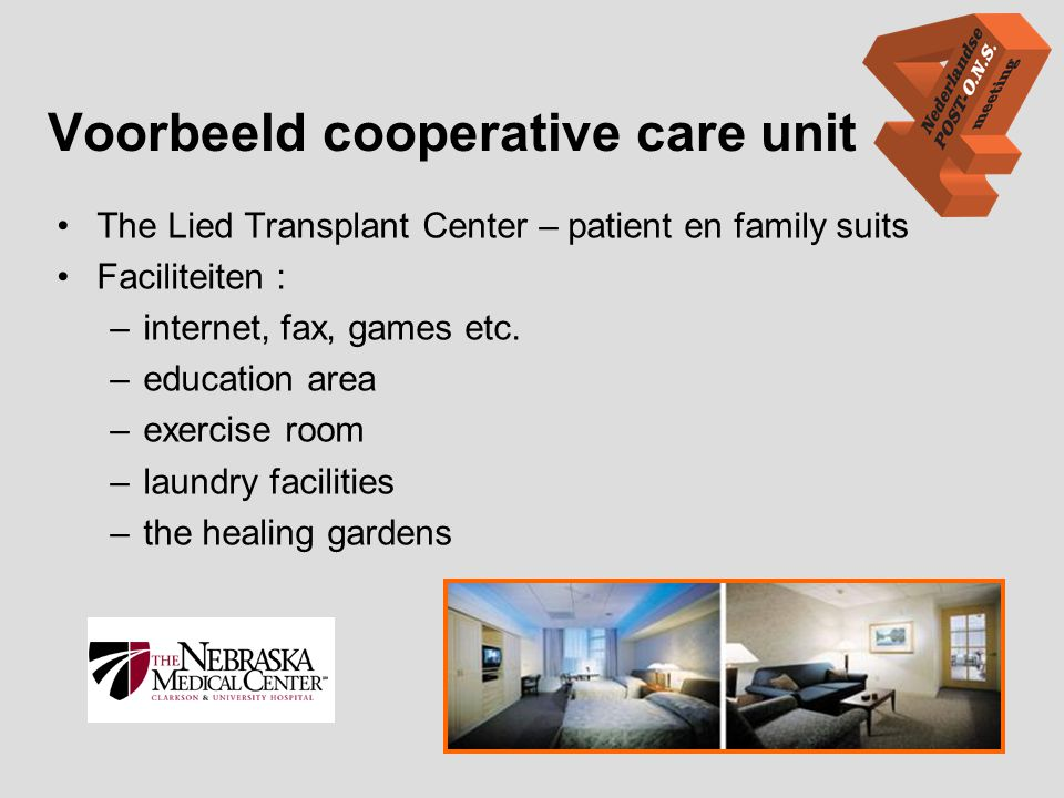 Voorbeeld cooperative care unit