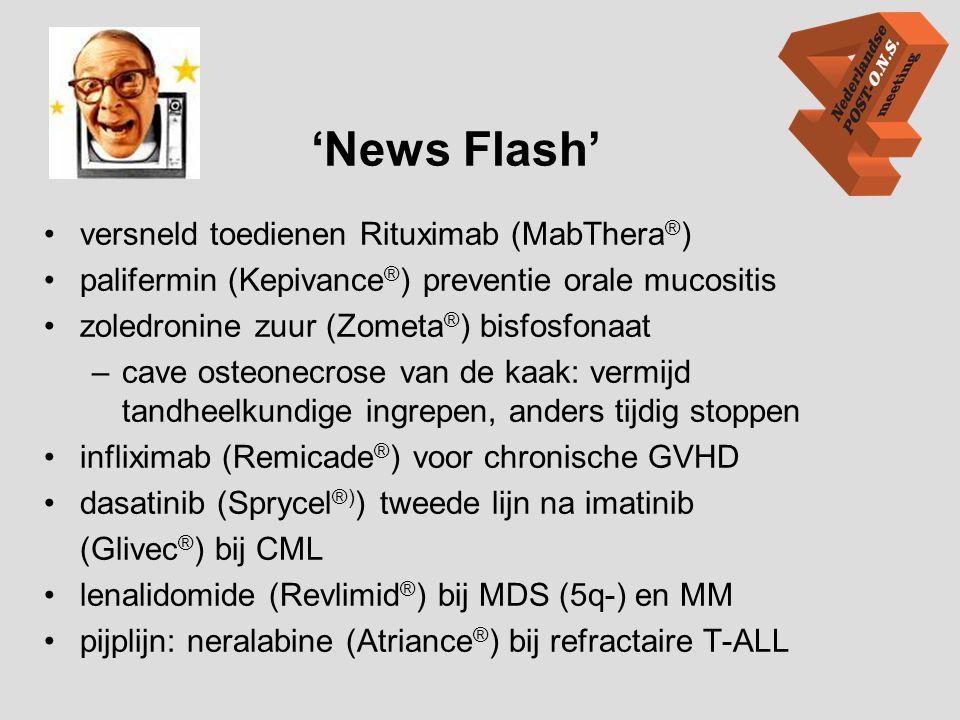 'News Flash' versneld toedienen Rituximab (MabThera®)