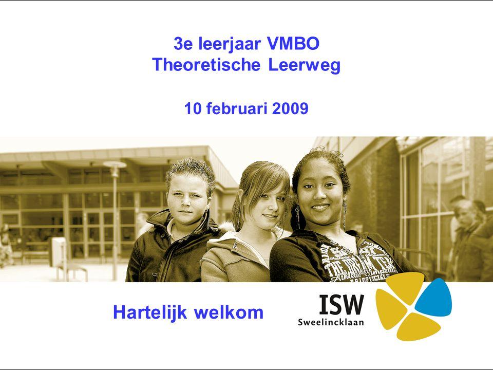 3e leerjaar VMBO Theoretische Leerweg