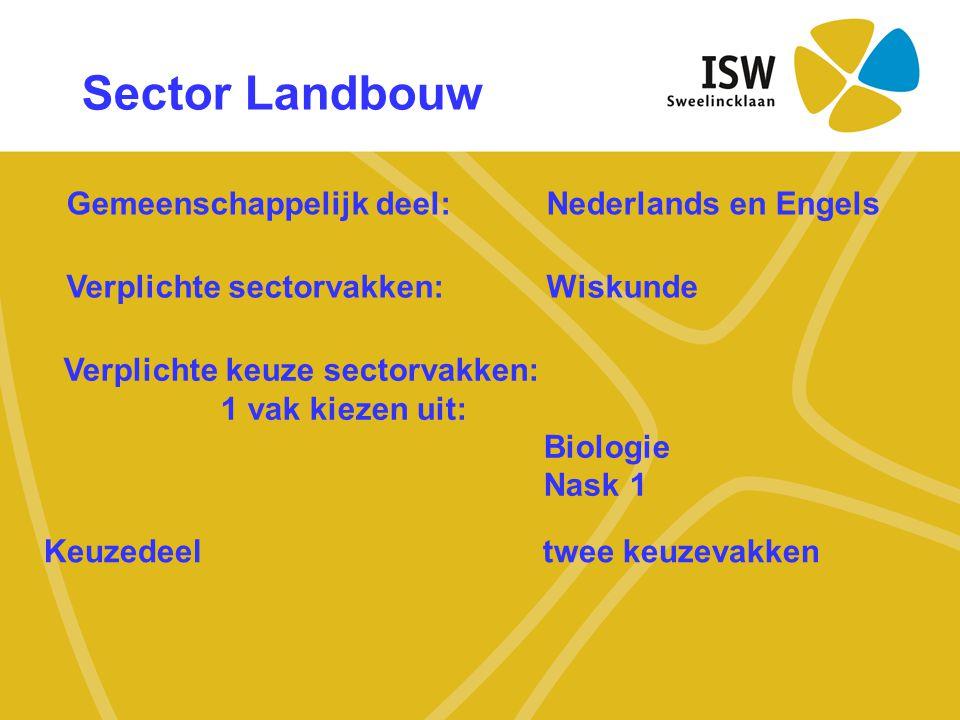 Gemeenschappelijk deel: Nederlands en Engels