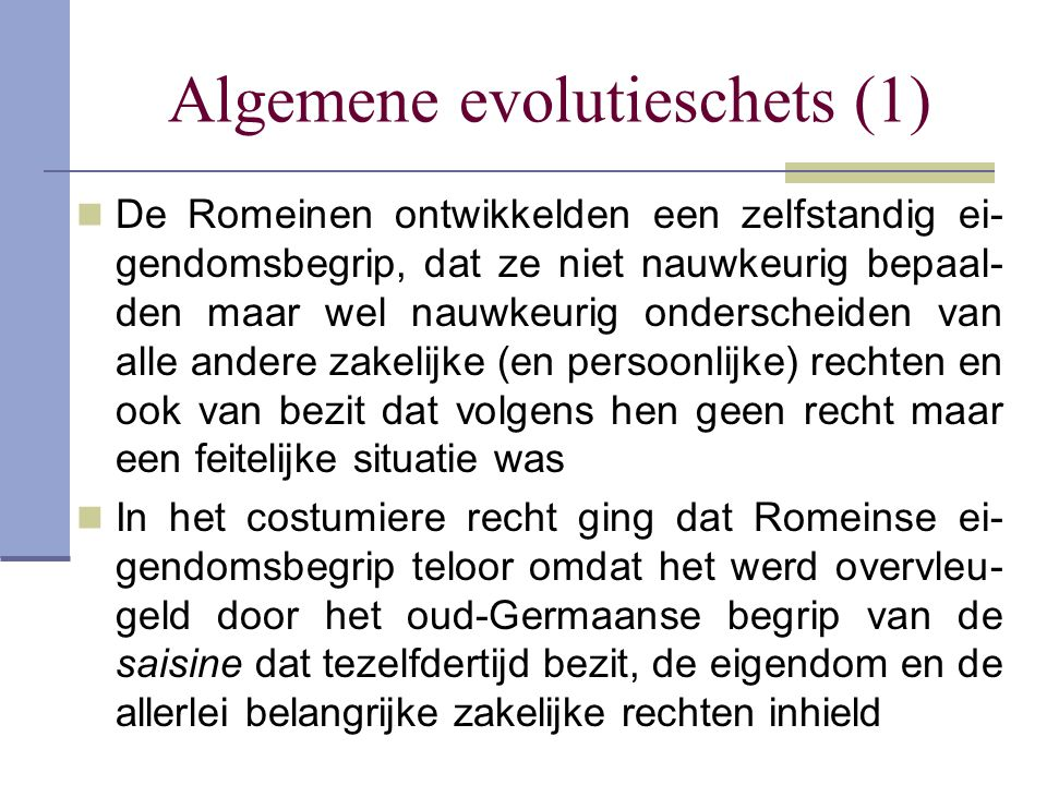 Algemene evolutieschets (1)