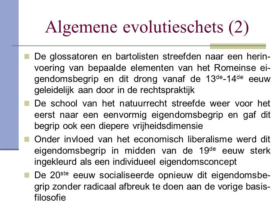 Algemene evolutieschets (2)