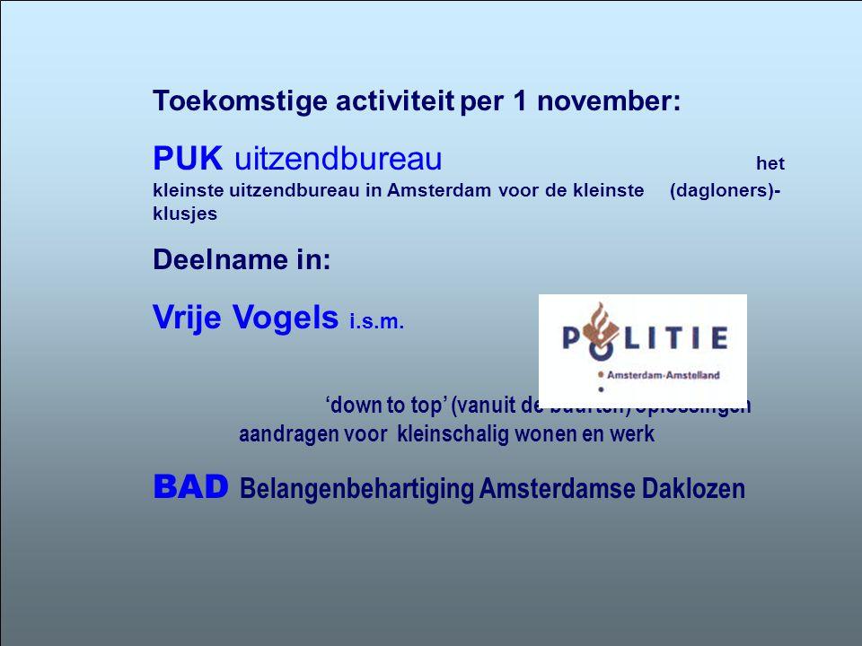BAD Belangenbehartiging Amsterdamse Daklozen