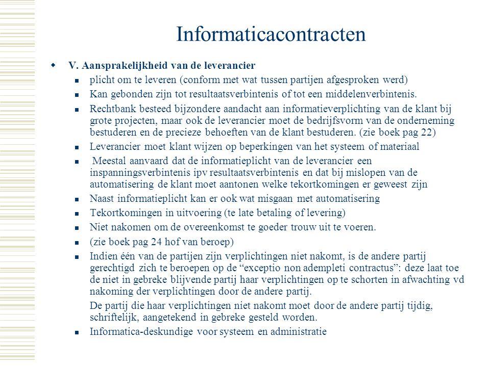 Informaticacontracten