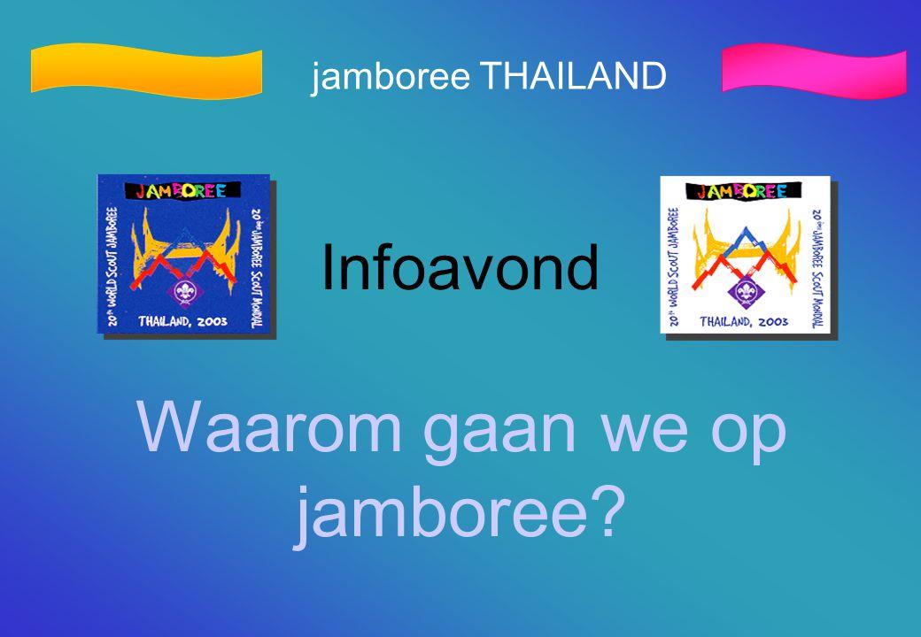 Waarom gaan we op jamboree
