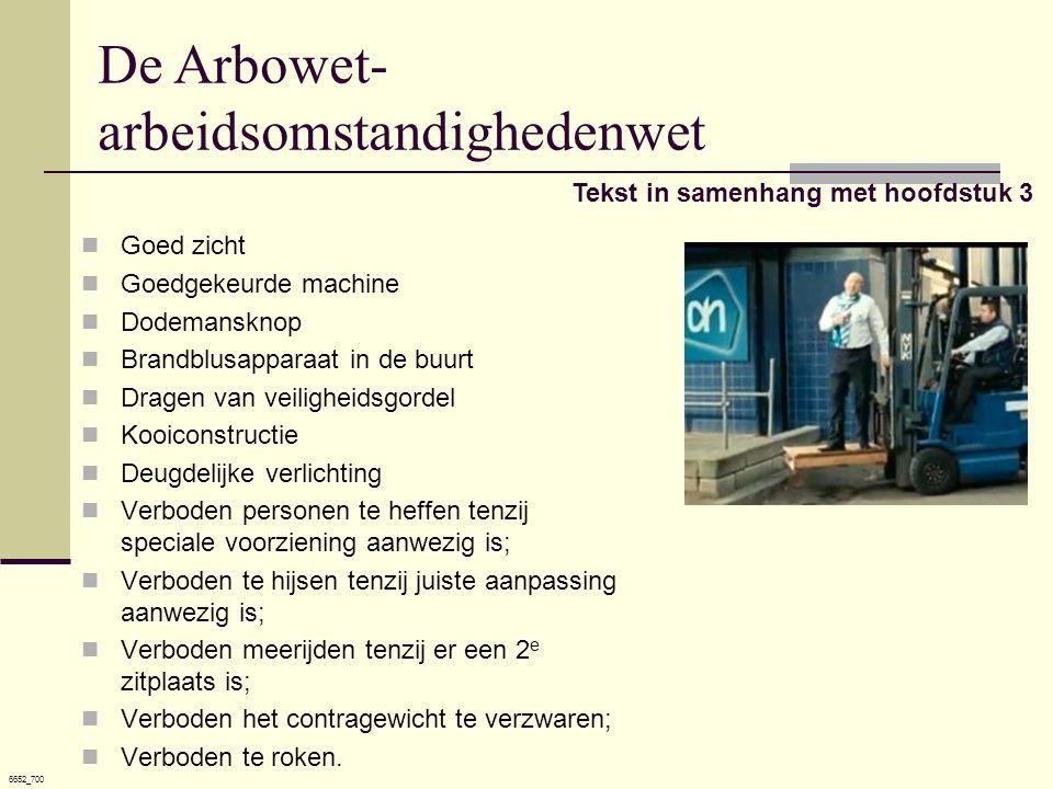 De Arbowet- arbeidsomstandighedenwet