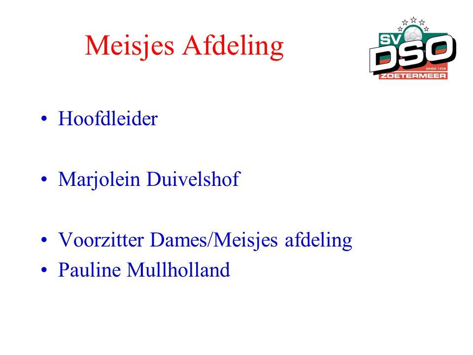Meisjes Afdeling Hoofdleider Marjolein Duivelshof