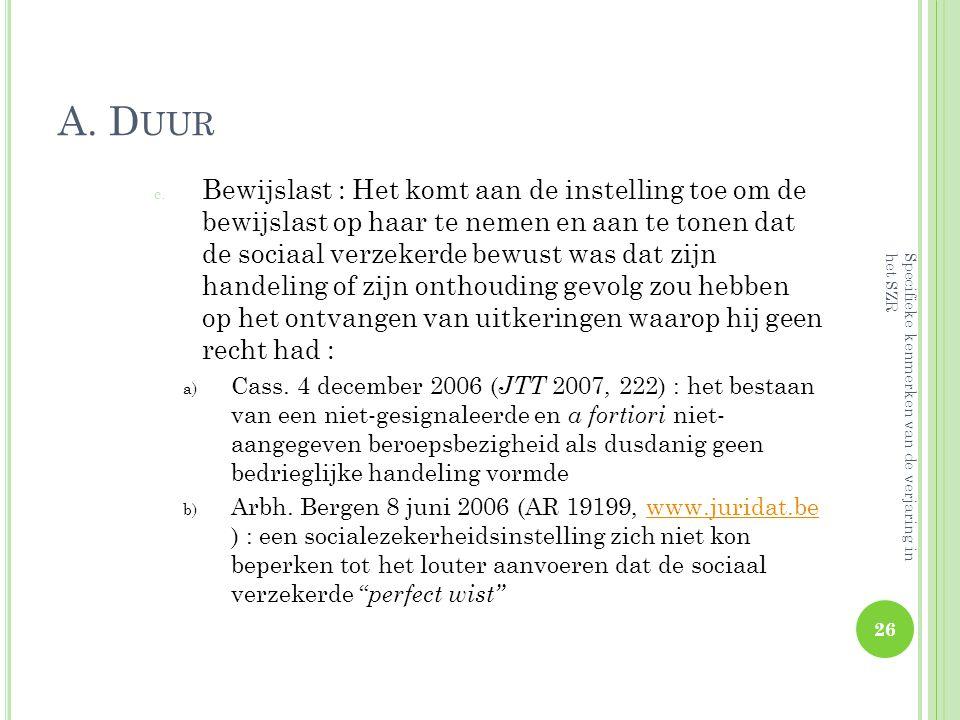 A. Duur