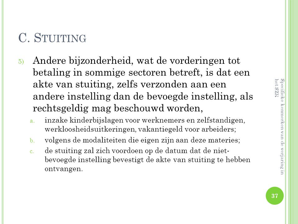 C. Stuiting