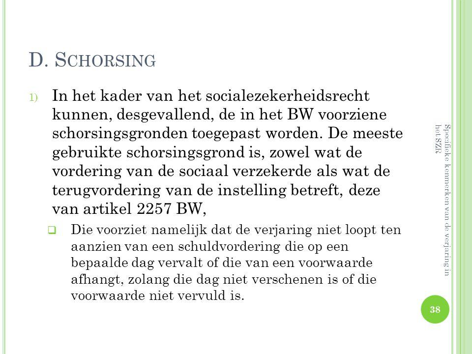 D. Schorsing