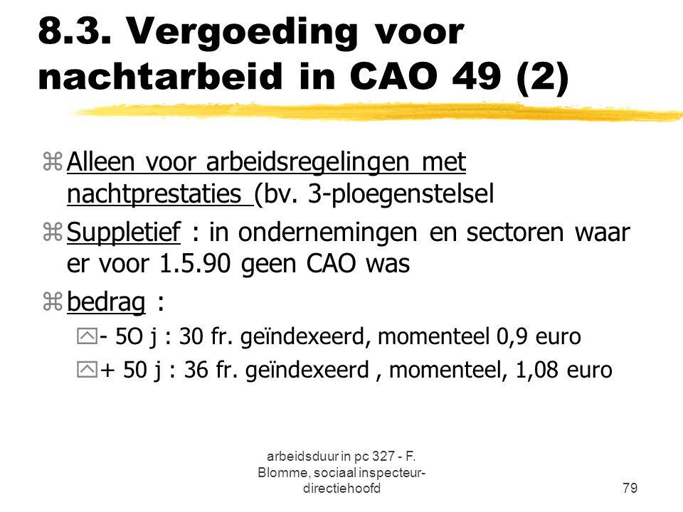 8.3. Vergoeding voor nachtarbeid in CAO 49 (2)