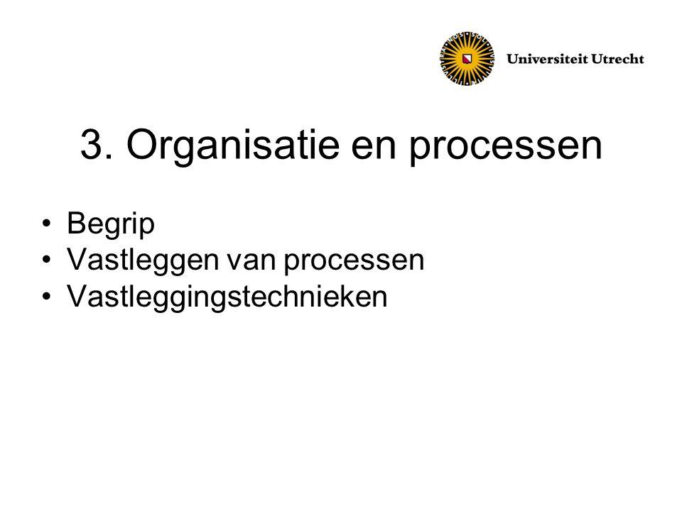 3. Organisatie en processen