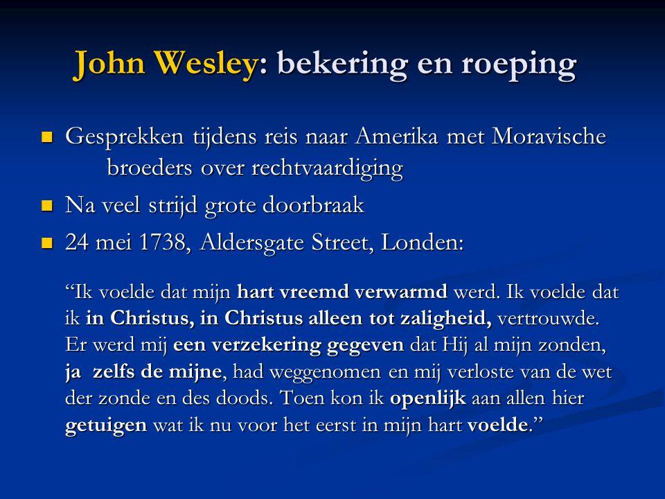 John Wesley: bekering en roeping