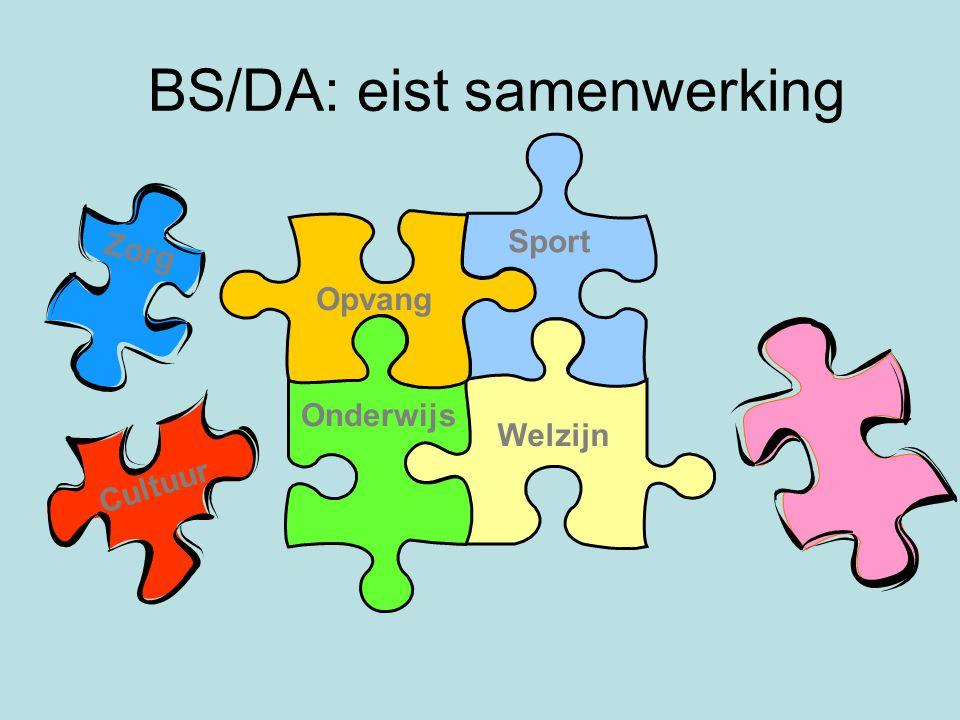 BS/DA: eist samenwerking