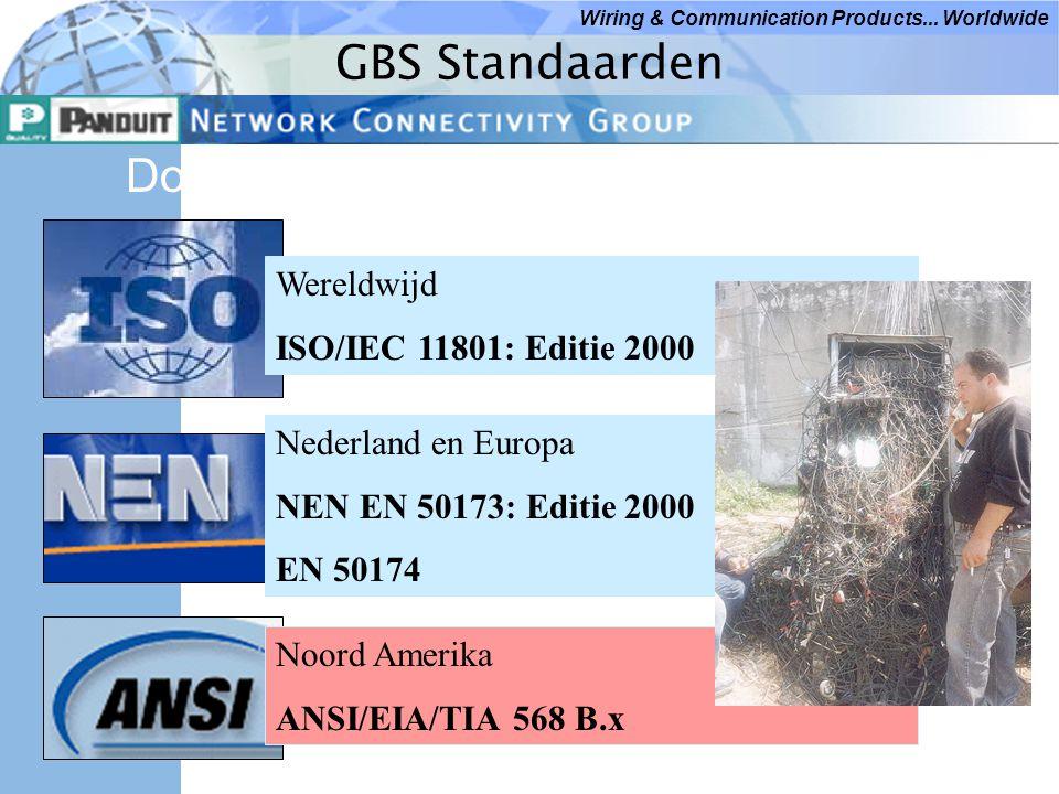 GBS Standaarden Documenten: Wereldwijd ISO/IEC 11801: Editie 2000