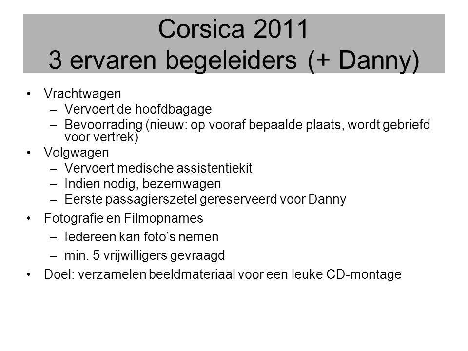 Corsica 2011 3 ervaren begeleiders (+ Danny)