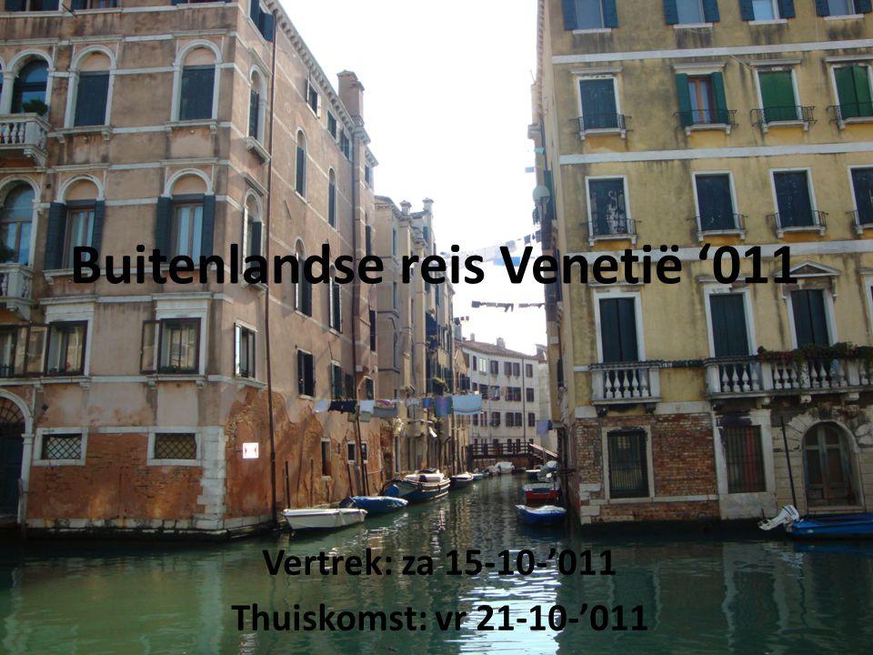 Buitenlandse reis Venetië '011