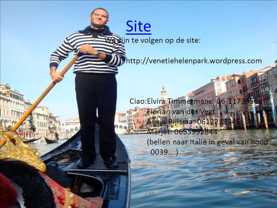 Site We zijn te volgen op de site:
