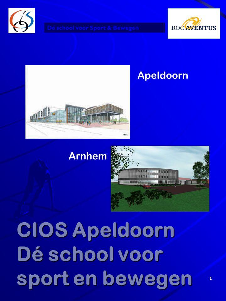CIOS Apeldoorn Dé school voor sport en bewegen
