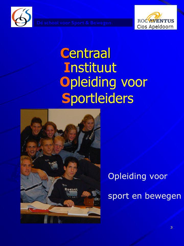 Centraal Instituut Opleiding voor Sportleiders Opleiding voor