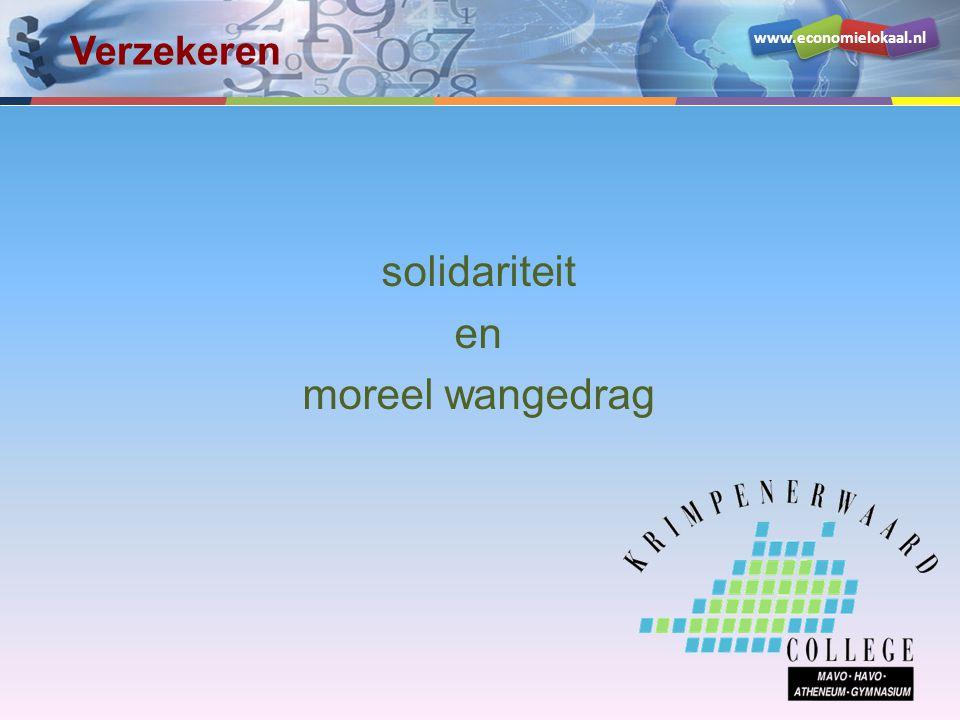 solidariteit en moreel wangedrag