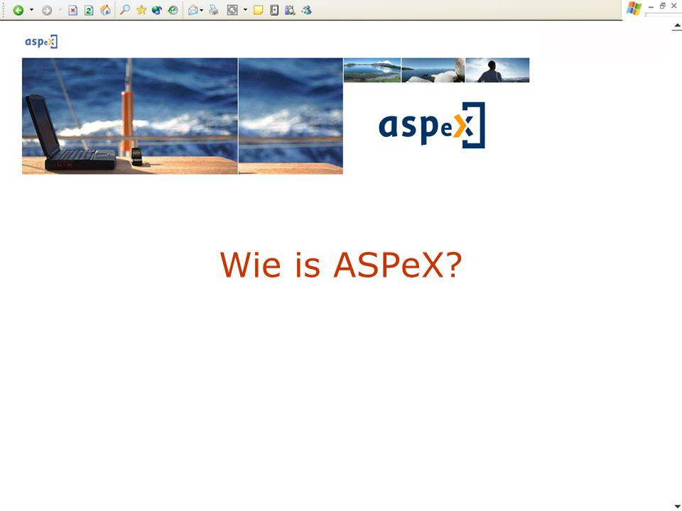 Wie is ASPeX