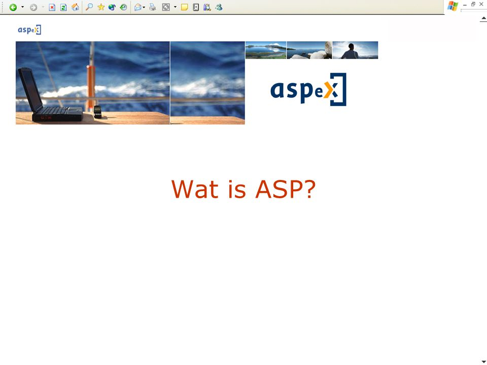 Wat is ASP