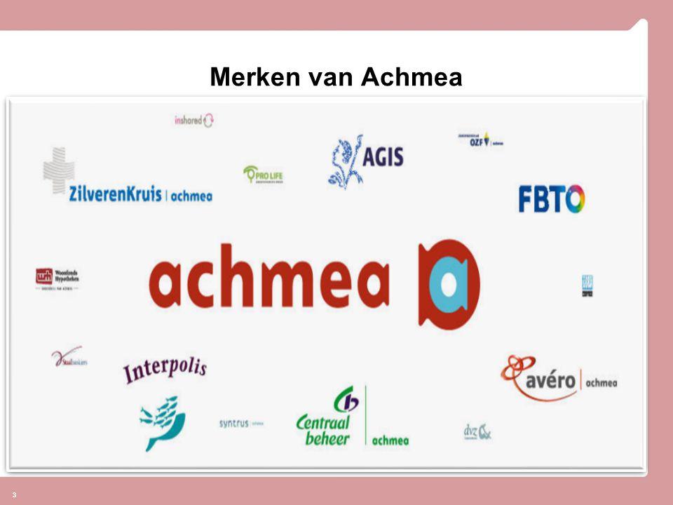 Welkom! Merken van Achmea 3
