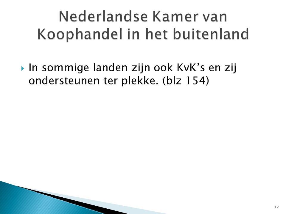 Nederlandse Kamer van Koophandel in het buitenland