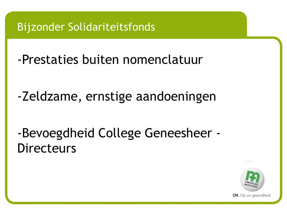 Bijzonder Solidariteitsfonds