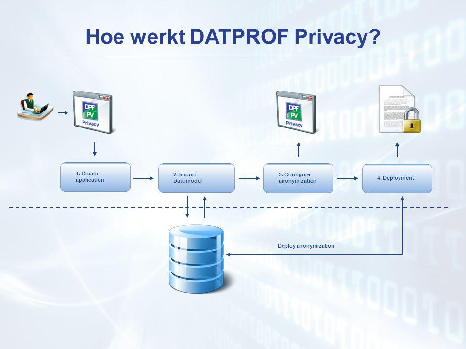 Hoe werkt DATPROF Privacy