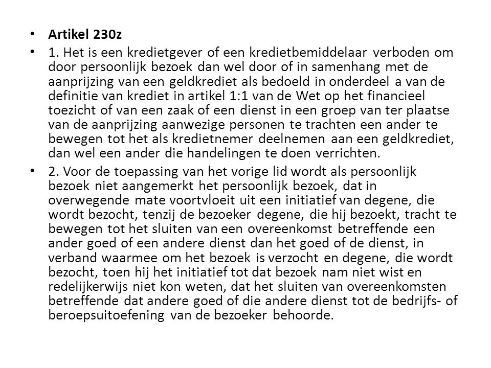 Artikel 230z