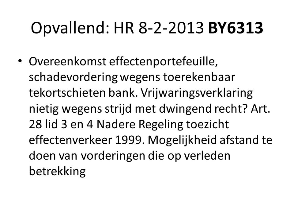 Opvallend: HR 8-2-2013 BY6313