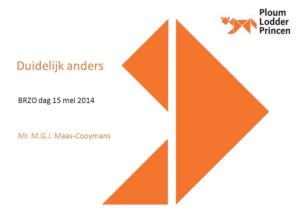 BRZO dag 15 mei 2014 Mr. M.G.J. Maas-Cooymans