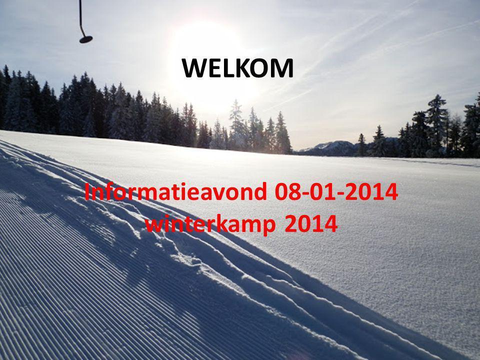 Informatieavond 08-01-2014 winterkamp 2014