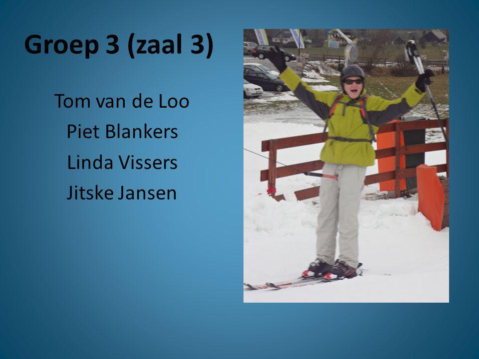 Tom van de Loo Piet Blankers Linda Vissers Jitske Jansen