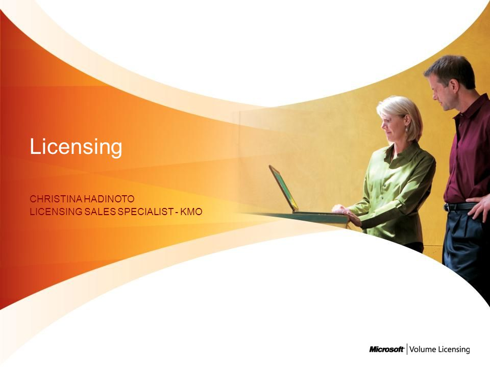 Christina Hadinoto Licensing Sales specialist - KMO