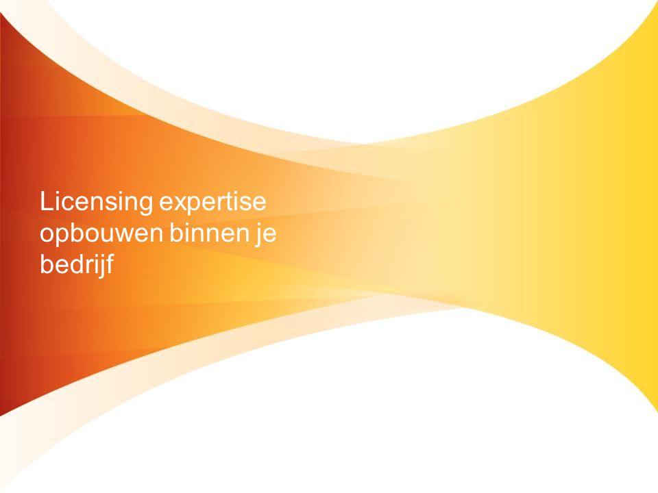 Licensing expertise opbouwen binnen je bedrijf