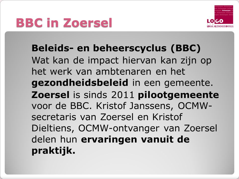 BBC in Zoersel