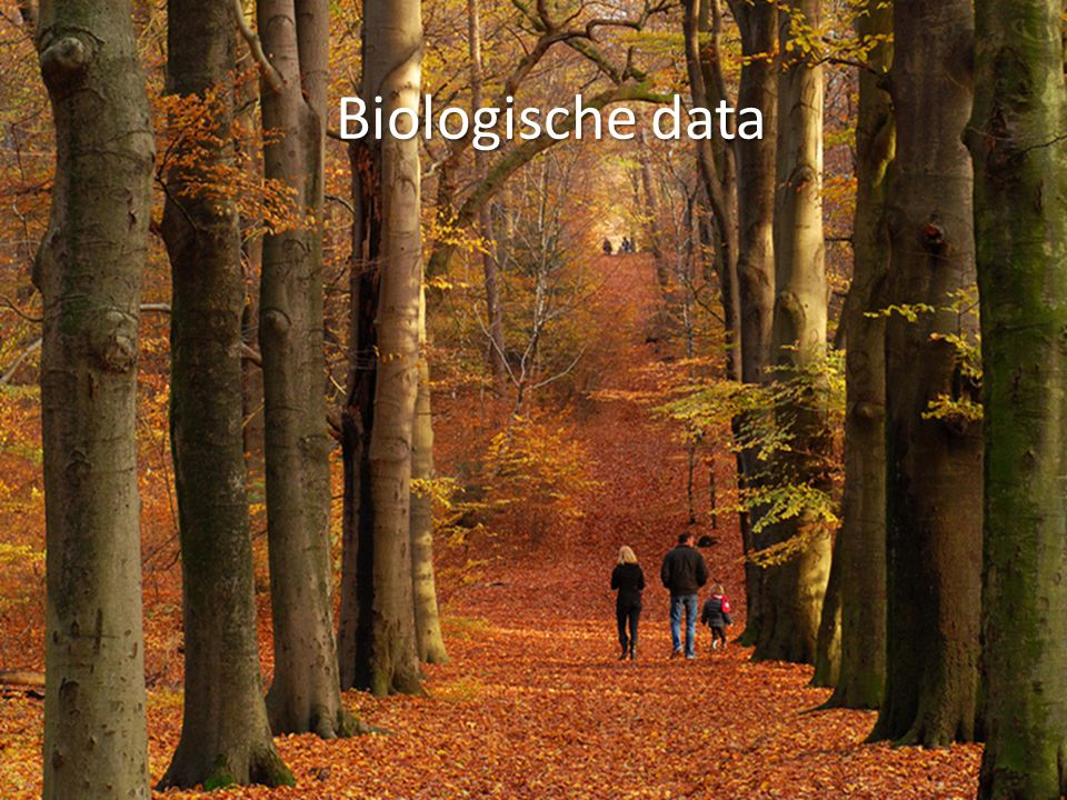 Biologische data